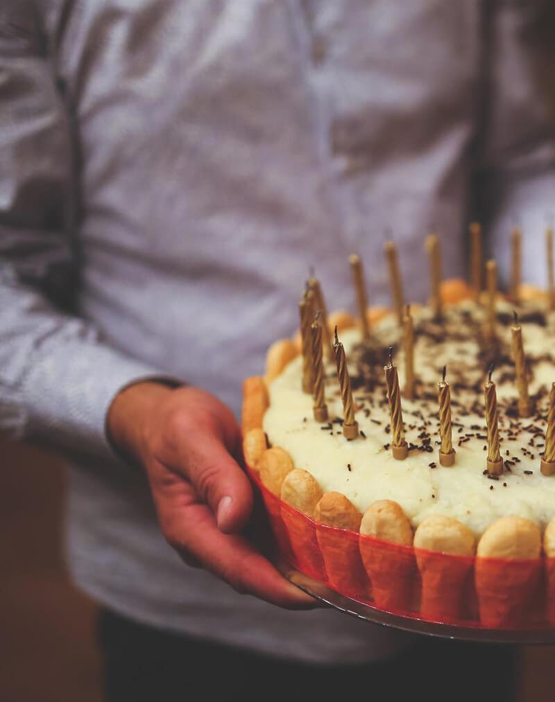 maistas gimtadieniams